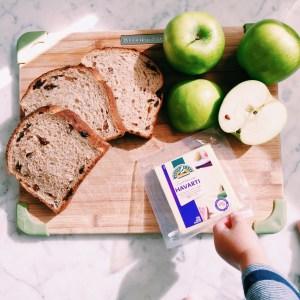 Recipe: Havarti and apple toasties
