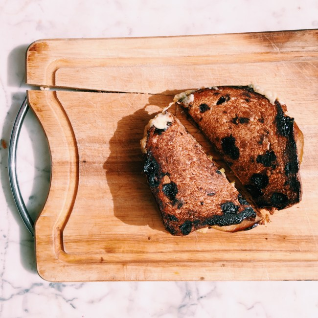 GoodFoodWeek's havarti and apple toasties