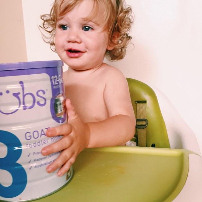 Bubs Goat Toddler Milk