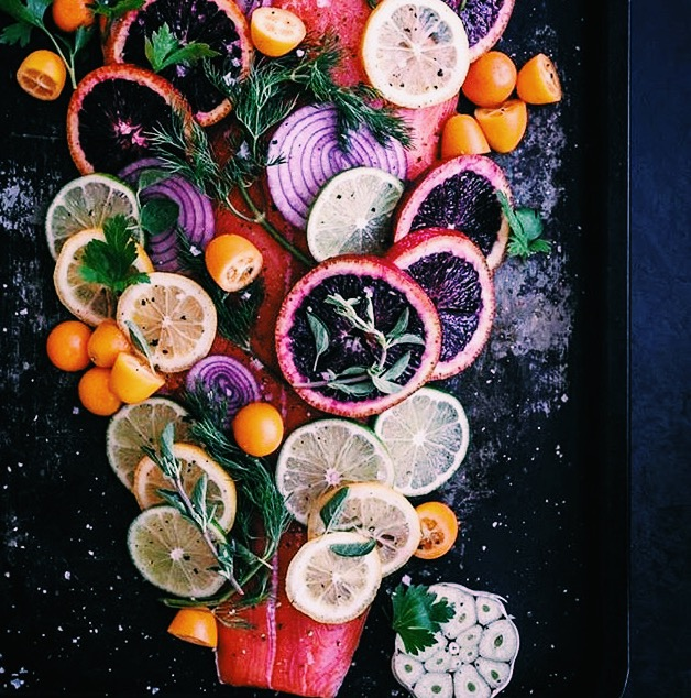 Seafood and Citrus