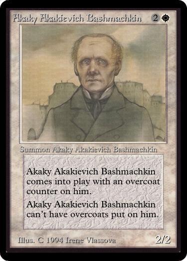 AkakyAkakievichBashmachkin