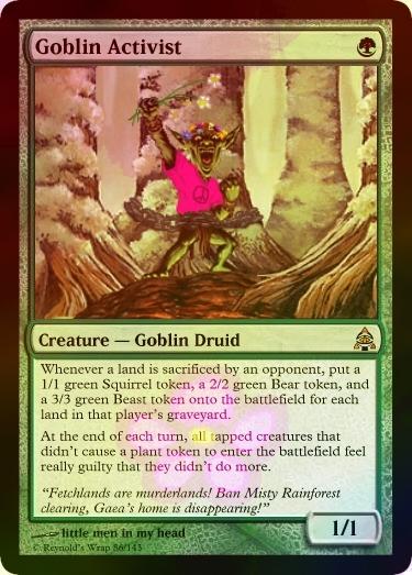 Goblin Activist