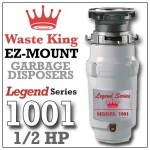 Waste King Legend Series ½ HP L-1001 Reviews