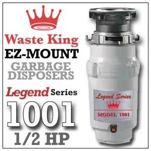 Waste King Legend Series ½ L-1001 Review