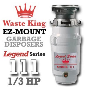 Waste King Legend L-111 review