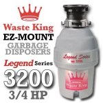 Waste King Legend Series ¾ HP L-3200 Review