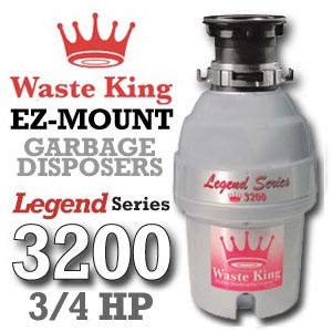 Waste King Legend Series ¾ L-3200 Review