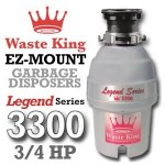 Waste King Legend Series ¾ HP L-3300 Review
