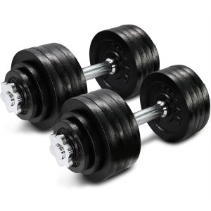 Adjustable Dumbbells are a great Weightlifting Gift
