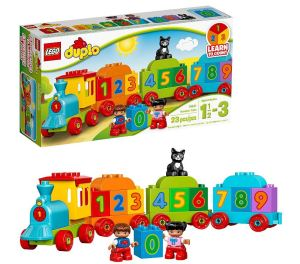 LEGO Number Train Toddler Learning
