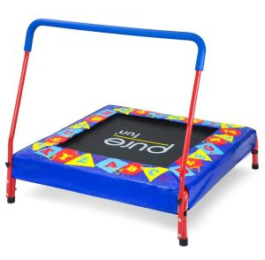 3' colorful Kids Trampoline with handrail