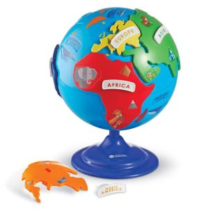 Puzzle Globe Toy for 4 Year Old Boy