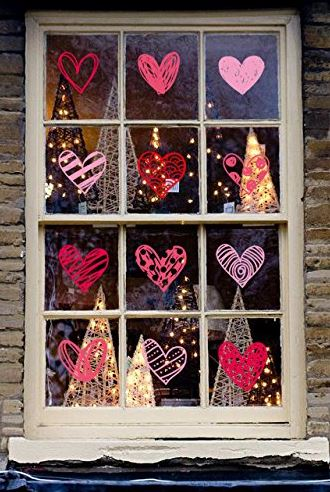 Valentines Day Window Clings Good Gifts For Senior Citizens