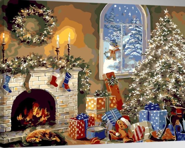 Christmas Paint By Numbers For Adults Good Gifts For