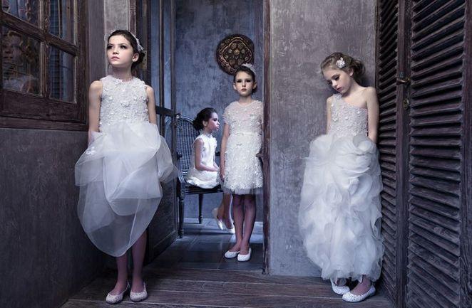 Mischka Aoki_luxury brand for children_jurkjes voor bruidsmeisjes_bruidsmeisjes jurken