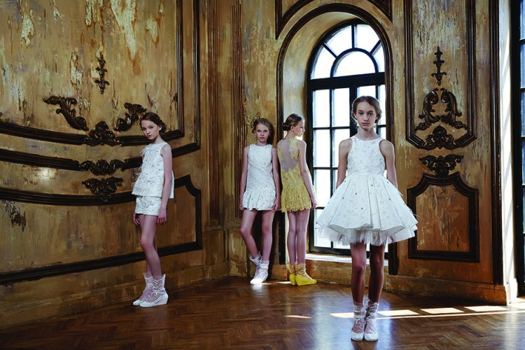 Mischka Aoki_Cinderella collection_spring summer 2015_Harrods_Bergdorf Goodman_Saks fifth avenue_Penelope Disick_Kourtney Kardashian