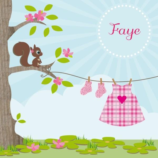 Tsjip Geboortekaartjes-geboorte aankondiging-zwanger-baby-Faye-GoodGirlsCompany