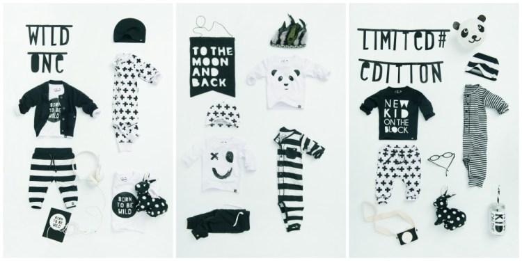 Z8 black and white limited edition collectie-Z8 newborn-Z8 zwart-witte kinderkleding-monochrome baby-giveaway-winactie-GoodGirlsCompany