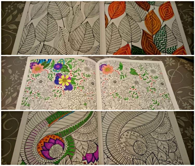 Kleurboek voor volwassenen-budget kleurboek voor volwassenen-goedkope kleurboeken voor volwassenen-impressie van kleurplaten