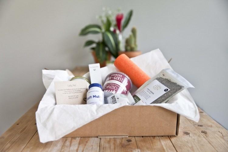 Healthbox is een box met elke maand opnieuw een verrassende supergezonde inhoud