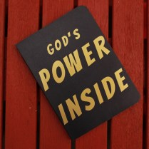 God's power notebook wide