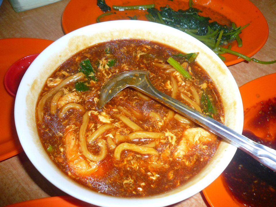 Hand made noodles in Ulu Yam