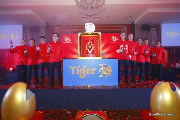 "The management team of GAB at the launch of Tiger Beer's ""Celebration of Golden Prosperity"""