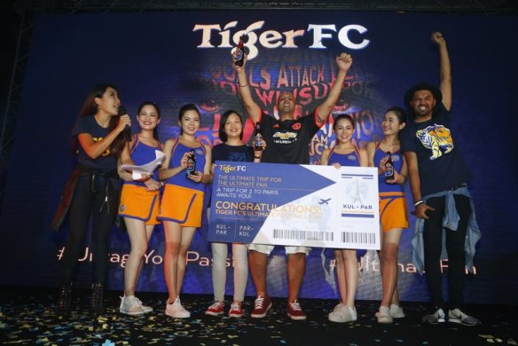 Sukhwinder Singh is crowned Tiger FC's Ultimate Fan and won a trip for two to catch a football match in France this July.