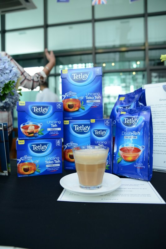 Tetley black tea is most suited for Teh Tarik