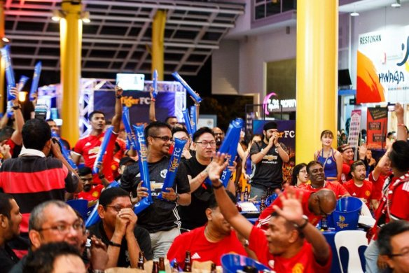 Hundreds of football fans turned up to watch two epic clashes - the football match, and the Finals of the Tiger FC Ultimate Fan contest