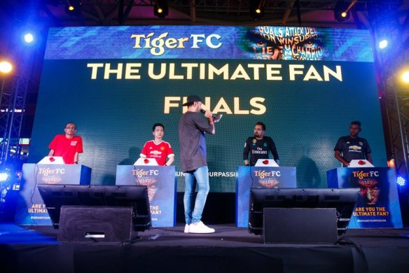All to play for as the four Tiger FC The Ultimate Fan finalists go head-to-head on the main stage