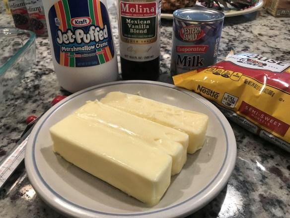 Loads of butter