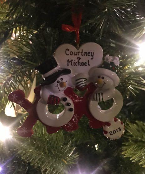 Couple Ornament