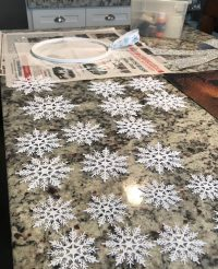 Use Snowflake ornaments