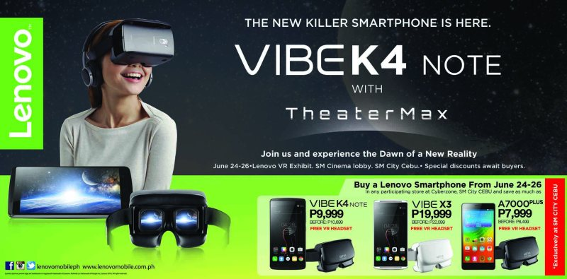 Cebuanos can now experience Virtual Reality with Lenovo smartphones | Good Guy Gadgets
