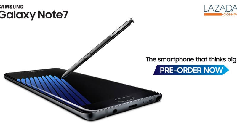 Samsung Galaxy Note7 available now for pre-order in the Philippines | Good Guy Gadgets