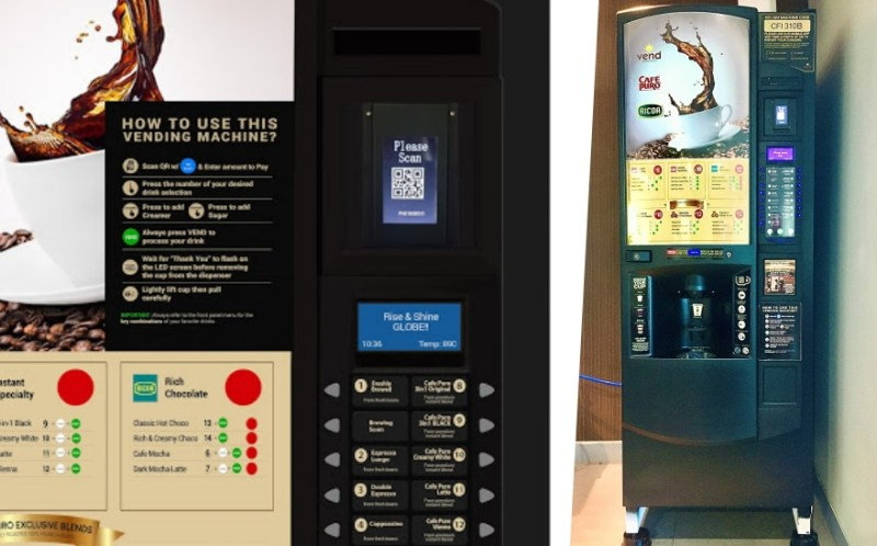 Globe, VEND pilot first QR code-operated vending machines in PH | Good Guy Gadgets