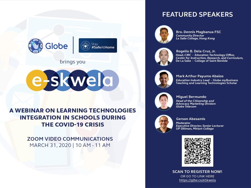 Learn at Home: Globe MyBusiness launches e-learning webinar for educators | Good Guy Gadgets