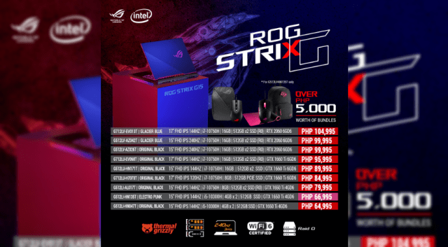 ASUS Republic of Gamers Philippines launches Zephyrus Duo 15 and other Intel 10th Gen Gaming Laptops | Good Guy Gadgets