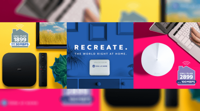 Recreate the world right at home with faster speeds, unli data and free devices; new postpaid plans from Globe At Home   Good Guy Gadgets