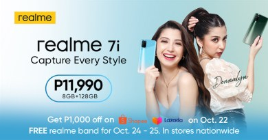 The realme 7i launch was headlined by certified kakaibabe Donnalyn Bartolome, the official face of realme 7i. | Good Guy Gadgets