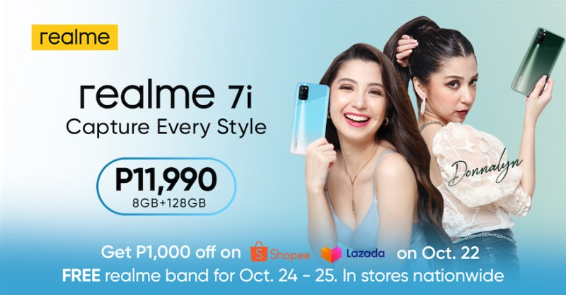 The realme 7i launch was headlined by certified <em>kakaibabe</em> Donnalyn Bartolome, the official face of realme 7i. | Good Guy Gadgets