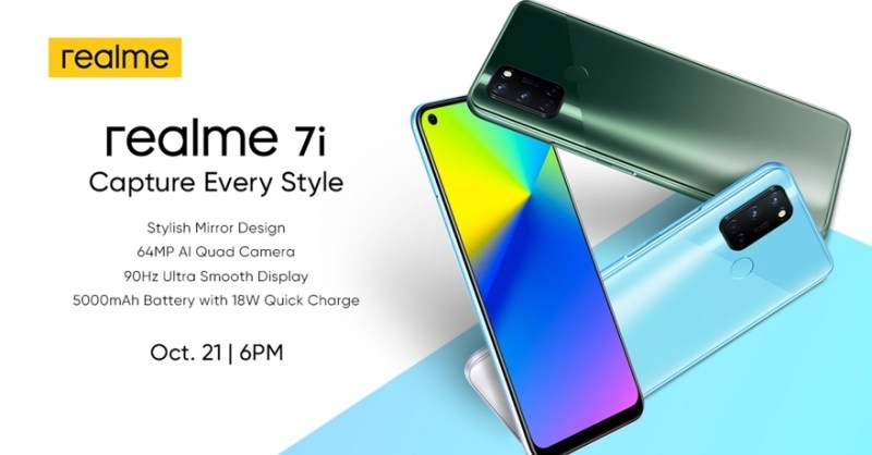 Capture Every Style With The New realme 7i on October 21 | Good Guy Gadgets