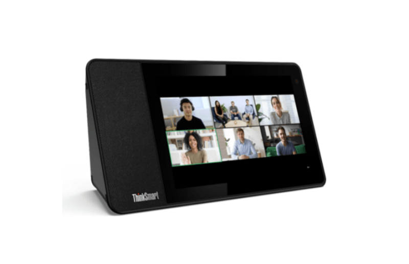 ThinkSmart View now leverages the powerful Zoom for Home platform bringing the best of Zoom Meetings into home workspaces. | Good Guy Gadgets