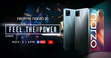 Launch of realme Narzo 20 on November 05 | Good Guy Gadgets