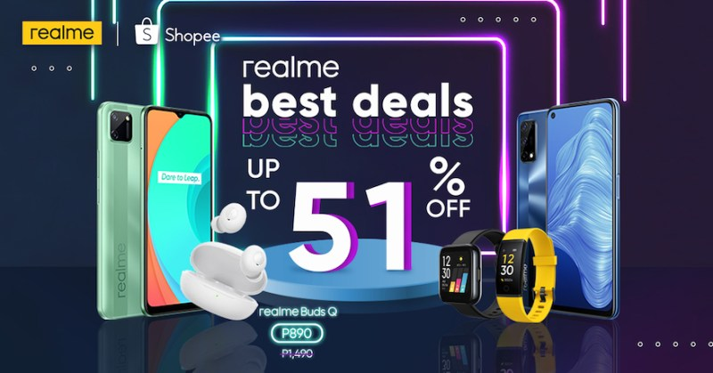 Santa Claus in bright yellow: realme offers up to 51% discount at Shopee's 12.12 Big Christmas Sale | Good Guy Gadgets