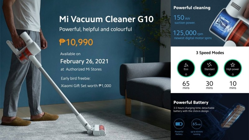 Xiaomi introduces new Mi Vacuum Cleaner G10 and Mi Electric Scooter Pro 2 Mercedes-AMG Petronas F1 Team Edition to its ecosystem products | Good Guy Gadgets