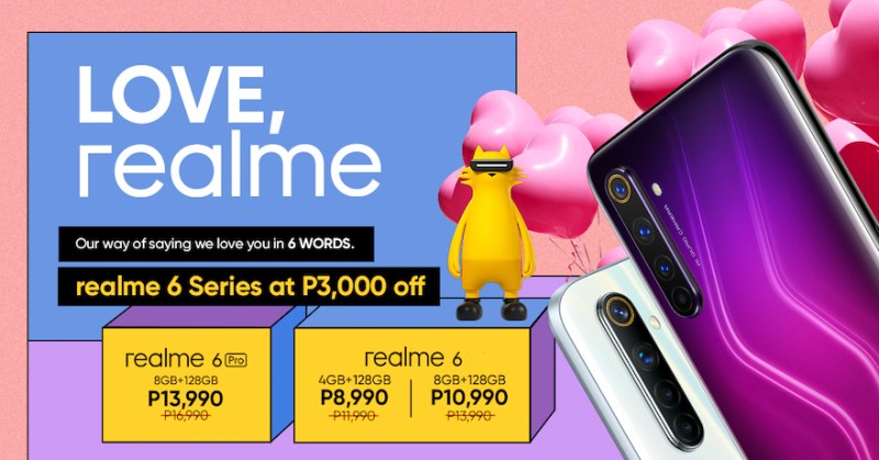 The realme 6 Series comes with new price, starts at Php 8,990 | Good Guy Gadgets