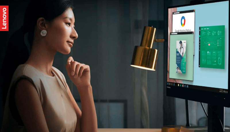 Manage screen time with Lenovo ThinkVision Eyesafe-certified monitors | Good Guy Gadgets