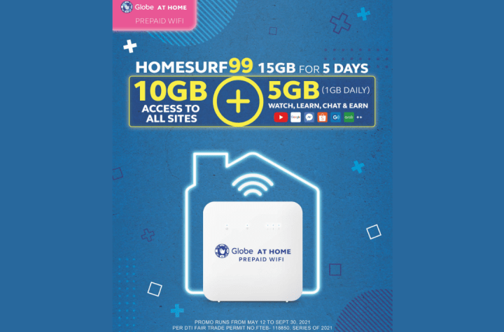 HomeSURF99 now offers 15GB for 5 days with Globe At Home Prepaid WiFi | Good Guy Gadgets